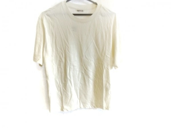 AURALEE(オーラリー) 半袖Tシャツ サイズ1 S レディース 白