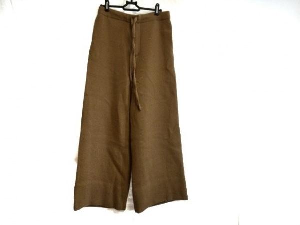 AURALEE(オーラリー) パンツ サイズ0 XS レディース ライトブラウン ワイドパンツ