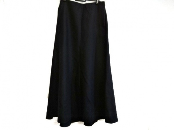 AURALEE(オーラリー) ロングスカート サイズ1 S レディース ダークネイビー