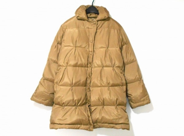 GIGLI(ジリ) ダウンコート サイズ38 M レディース美品  ブラウン 冬物