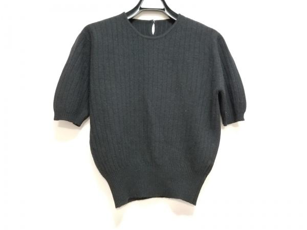 OLD ENGLAND(オールドイングランド) 半袖セーター レディース 黒