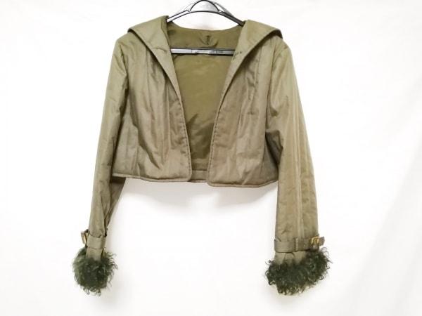 Diolen(ディオレン) コート サイズ11 M レディース カーキ ボア/冬物