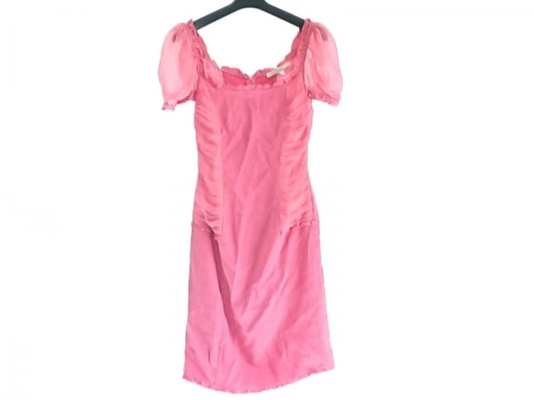 BLUMARINE(ブルマリン) ワンピース レディース ピンク シースルー