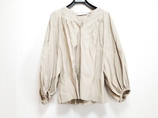 ADORE(アドーア) 七分袖カットソー サイズ38 M レディース美品  ベージュ ピンタック