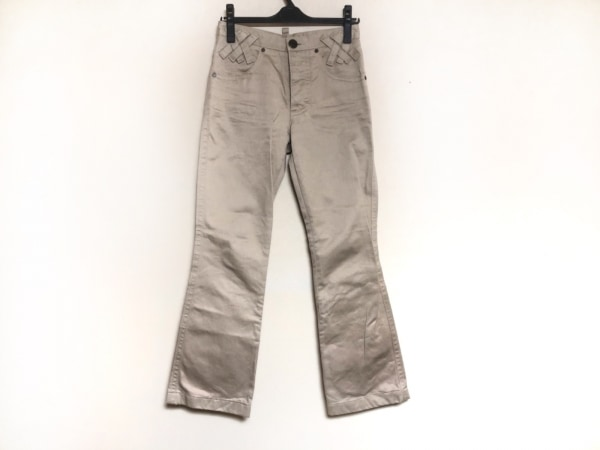 DSQUARED2(ディースクエアード) パンツ サイズ36 S メンズ ベージュ×ダークブラウン