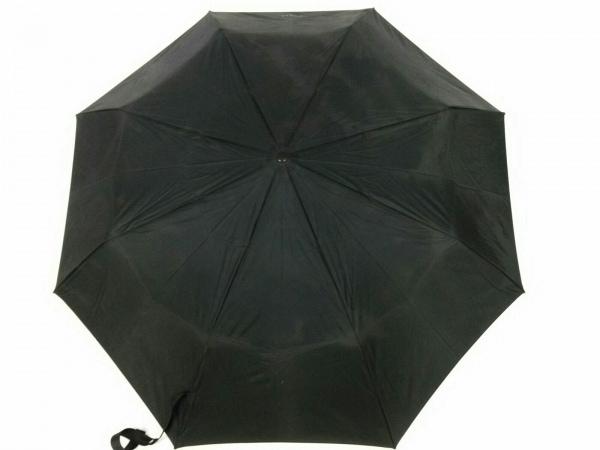 PRADA(プラダ) 折りたたみ傘美品  黒 ポリアミド