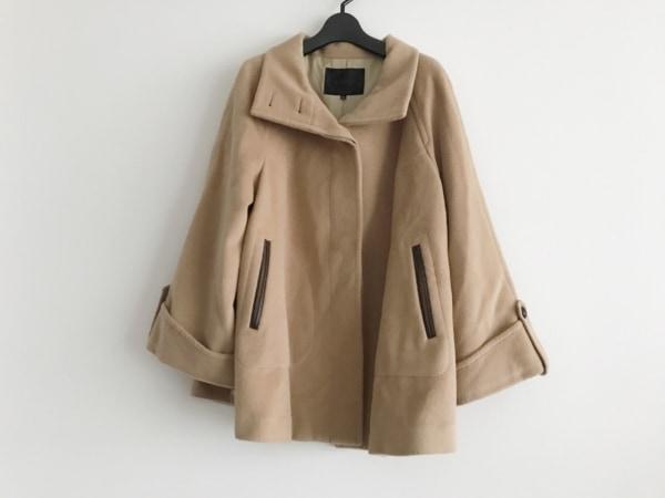 UNTITLED(アンタイトル) コート サイズ4 XL レディース ライトブラウン 冬物