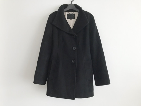 UNTITLED(アンタイトル) コート サイズ42 L レディース 黒 冬物