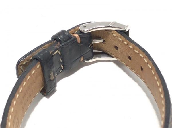 GUCCI(グッチ) 腕時計 3000L レディース 革ベルト 黒