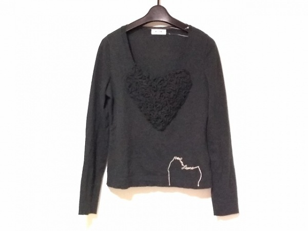 MOSCHINO(モスキーノ) 長袖セーター レディース 黒 jeans
