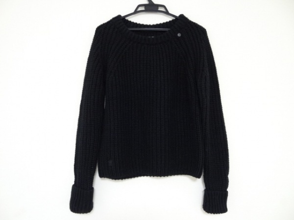 G-STAR RAW(ジースターロゥ) 長袖セーター サイズS レディース美品  黒