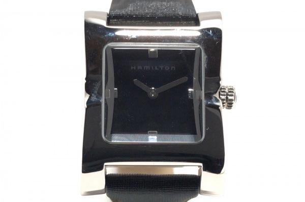 HAMILTON(ハミルトン) 腕時計 000150 レディース 革ベルト 黒