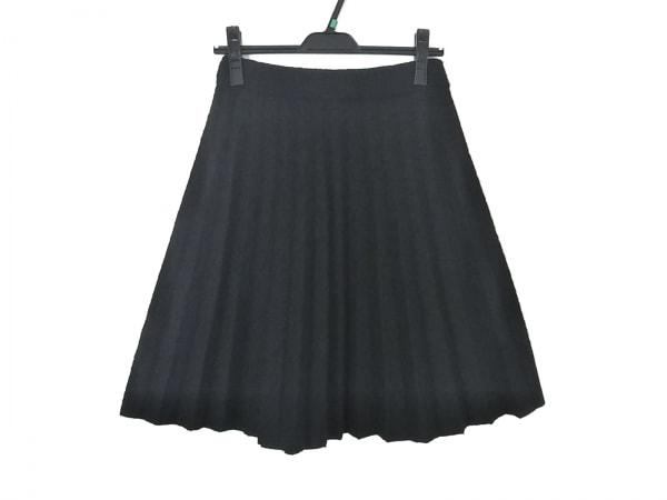 EMPORIOARMANI(エンポリオアルマーニ) スカート レディース美品  黒 プリーツ