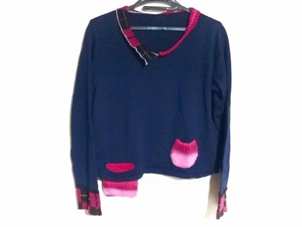 慈雨(ジウ/センソユニコ) 長袖セーター サイズ40 M レディース美品
