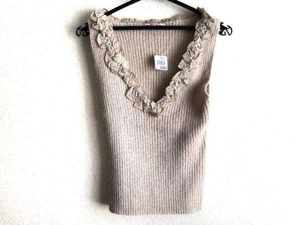 グレースコンチネンタル ノースリーブセーター サイズ36 S レディース美品