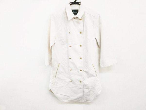 Loungedress(ラウンジドレス) コート サイズF レディース美品  アイボリー 春・秋物