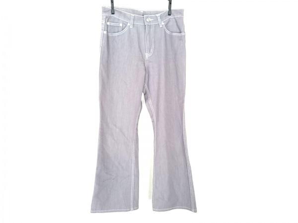 B3 B-THREE(ビースリー) パンツ サイズ38 M レディース グレー ストレッチ