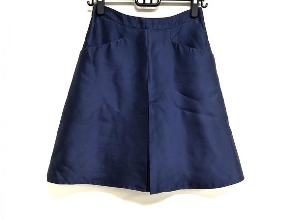 BLUMARINE(ブルマリン) スカート サイズ40 M レディース ダークネイビー