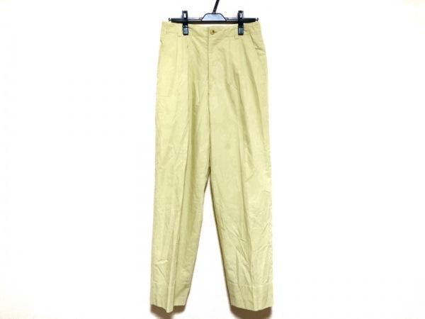 Castelbajac(カステルバジャック) パンツ サイズ78 メンズ イエロー +2 NATURE