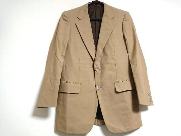 DURBAN(ダーバン) ジャケット メンズ新品同様  ライトブラウン ストライプ