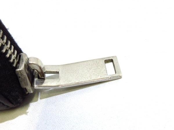 サンローランパリ 長財布 - 315897 黒×シルバー スタッズ レザー×金属素材