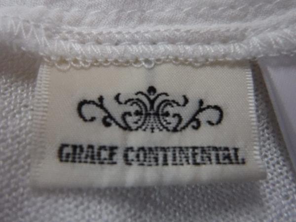 グレースコンチネンタル 半袖カットソー サイズ36 S レディース - - 白