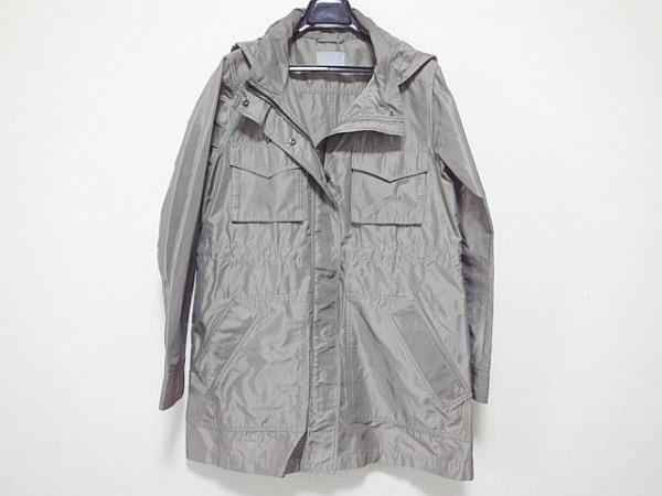 セオリーリュクス コート サイズ38 M レディース美品  グレー ジップアップ/春・秋物