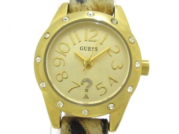 GUESS(ゲス) 腕時計 W0341L1 レディース ゴールド