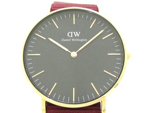 Daniel Wellington(ダニエルウェリントン) 腕時計美品  - B36R19 ボーイズ 黒