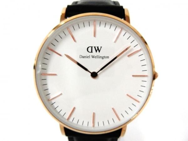 Daniel Wellington(ダニエルウェリントン) 腕時計 クラシック B36R8 ボーイズ 白