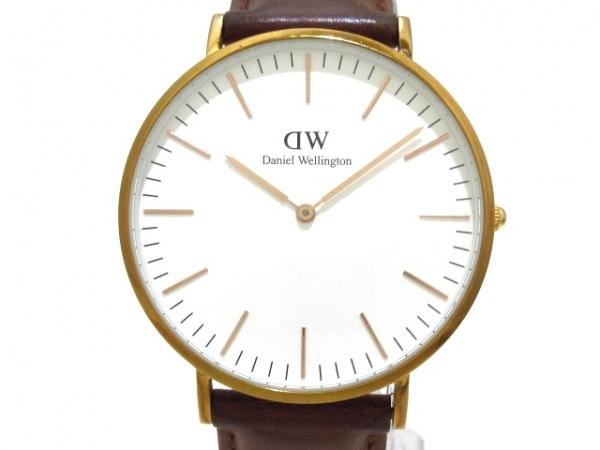 Daniel Wellington(ダニエルウェリントン) 腕時計 B10 メンズ 白