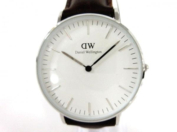 Daniel Wellington(ダニエルウェリントン) 腕時計美品  B36S5 ボーイズ 白
