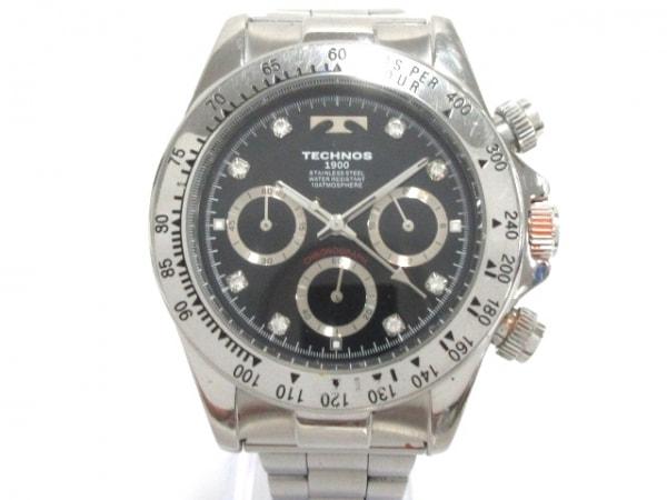 TECHNOS(テクノス) 腕時計 - メンズ 黒