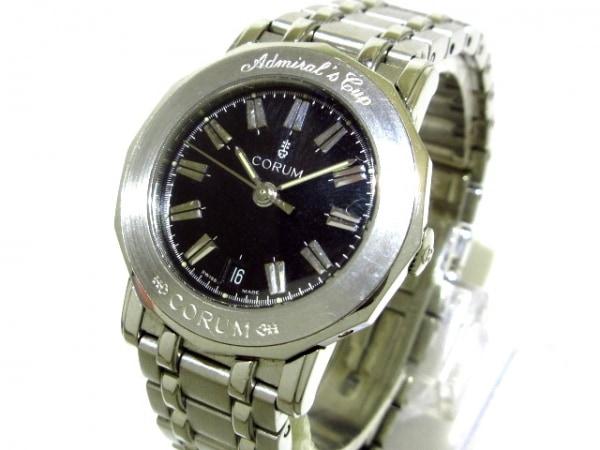 CORUM(コルム) 腕時計 アドミラルズカップ 39.130.20 レディース 黒