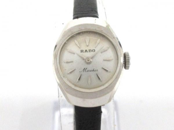 RADO(ラドー) 腕時計 マルシェ - レディース シルバー