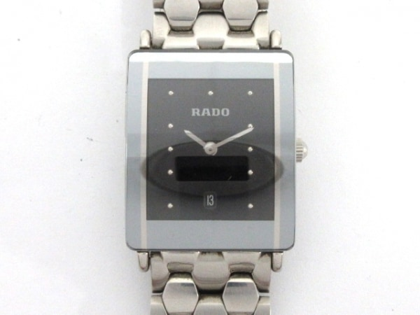 RADO(ラドー) 腕時計 インテグラル 160.0486.3/R20486183 メンズ 黒
