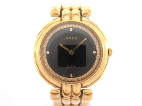RADO(ラドー) 腕時計 ル・ソワール 204.3632.2 メンズ 黒
