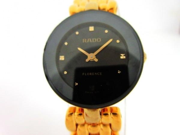 RADO(ラドー) 腕時計美品  フローレンス 153.3678.2 レディース 黒