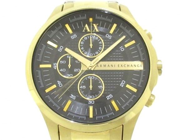 ARMANIEX(アルマーニEX) 腕時計 AX2137 メンズ 黒