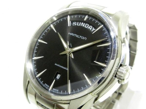 HAMILTON(ハミルトン) 腕時計 ジャズマスター デイデイト H325051 メンズ 黒