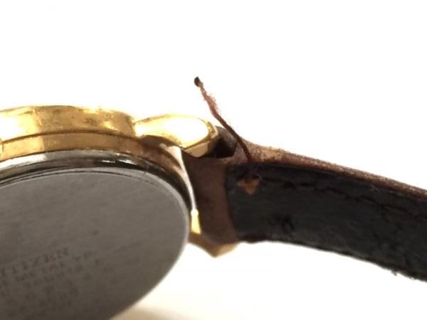 CITIZEN(シチズン) 腕時計 36-4088 レディース 革ベルト/Lighthouse 白