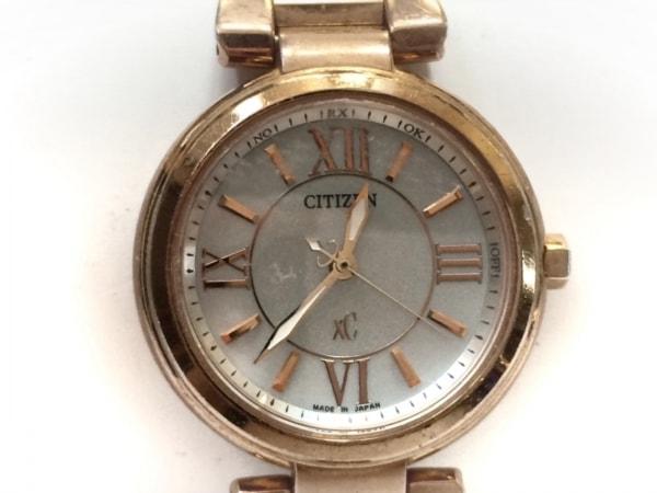 CITIZEN(シチズン) 腕時計 XC H335-T012353 レディース エコドライブ シルバー