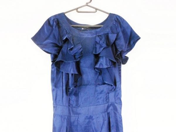 FRAGILE(フラジール) ワンピース サイズ36 S レディース美品  ブルー フリル