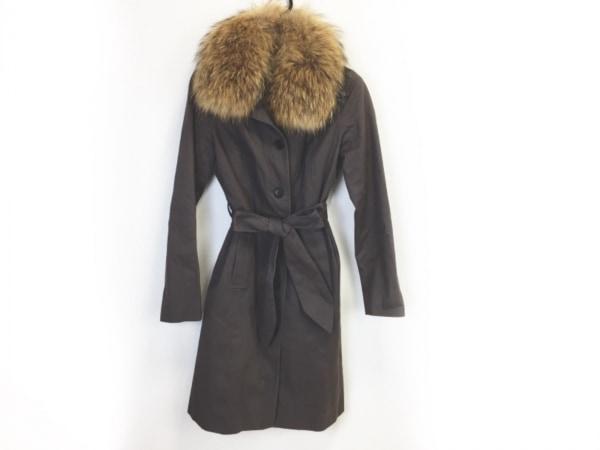 anySiS(エニシス) コート サイズ2 M レディース グレー 冬物