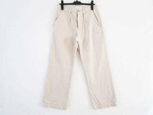 homspun(ホームスパン) パンツ サイズL レディース ベージュ