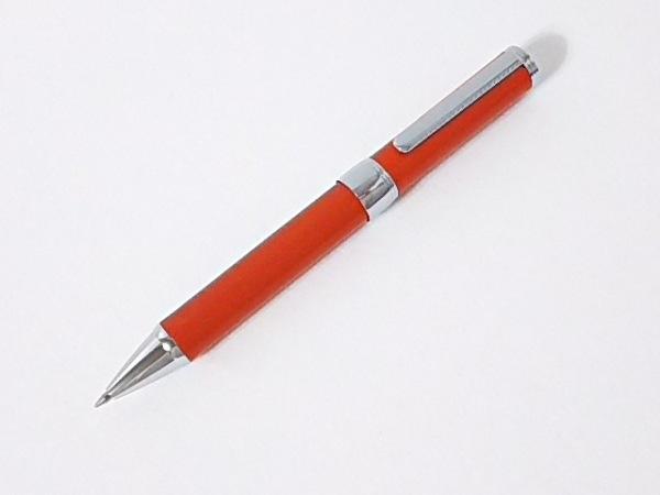 SOMES(ソメス) ボールペン美品  シルバー×ブラウン 金属素材