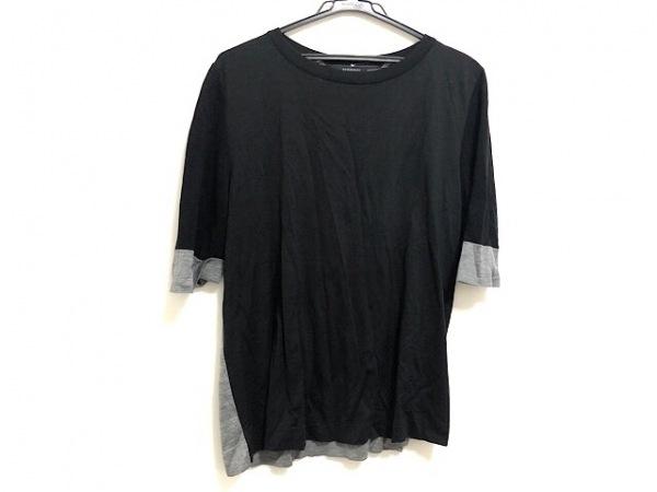 Burberry LONDON(バーバリーロンドン) 半袖Tシャツ サイズ4 XL メンズ 黒×グレー