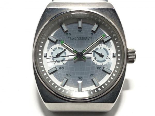 TRANS CONTINENTS(トランスコンチネンス) 腕時計 6320-H33147 レディース シルバー