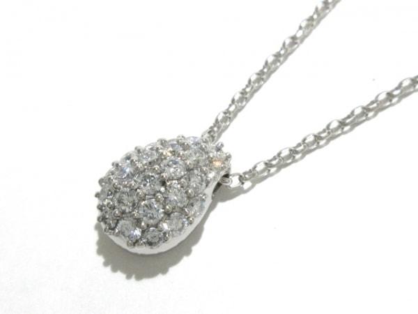 田崎真珠(タサキシンジュ) ネックレス美品  Pt850×Pt900×ダイヤモンド
