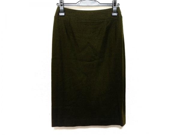 EPOCA(エポカ) スカート サイズ38 M レディース ダークグリーン